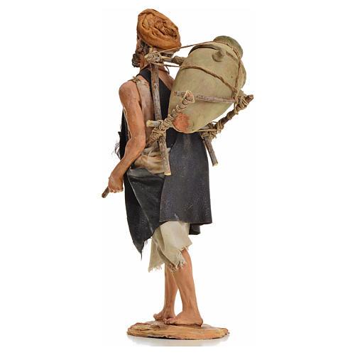 Pastore con anfora 18 cm Angela Tripi terracotta 3