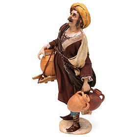 Pastore portatore di anfore 30 cm Angela Tripi terracotta s3