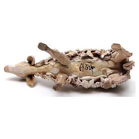 Oveja de pié en terracota 18 cm. Angela Tripi s5