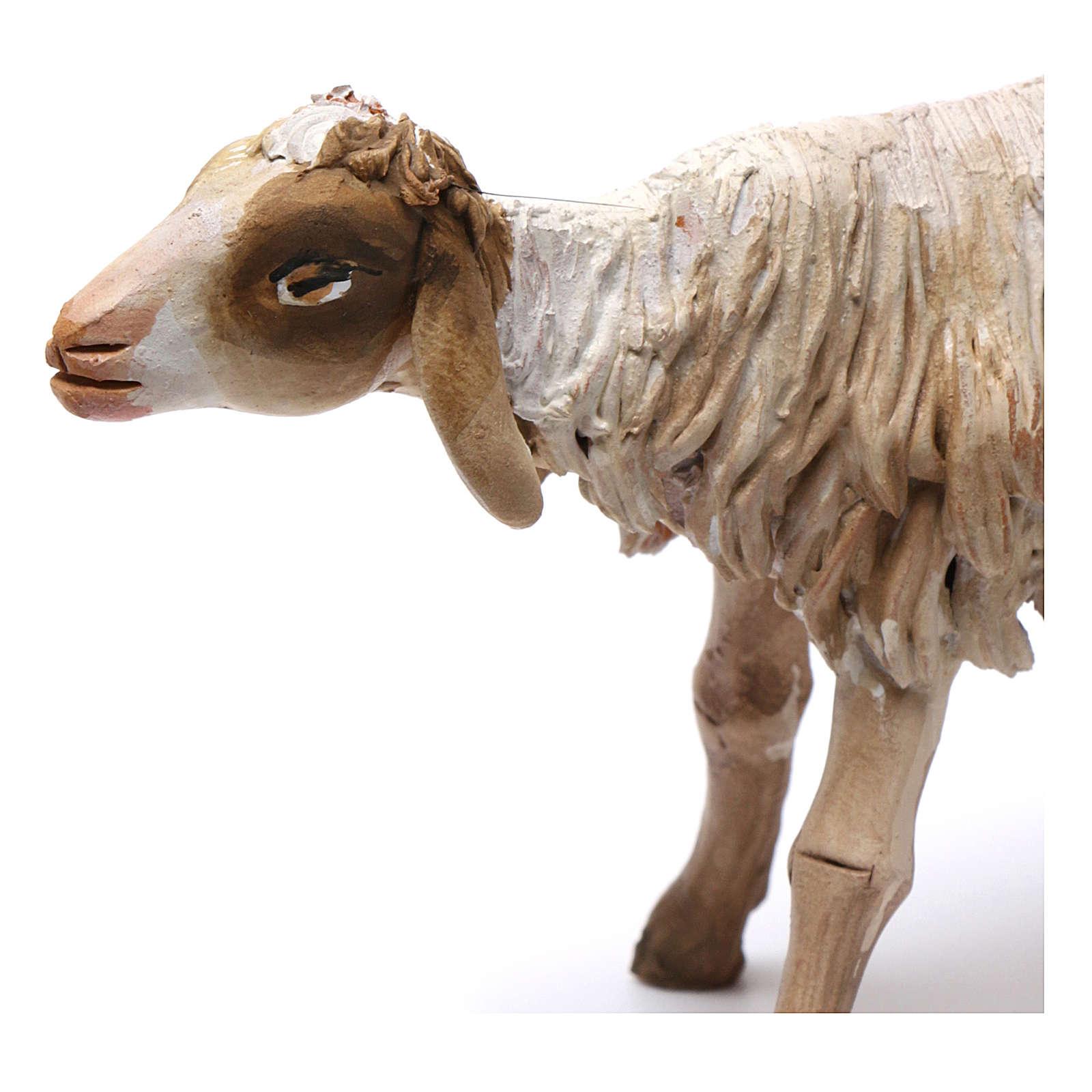 Nativity figurine, standing sheep, Angela Tripi 18cm 4