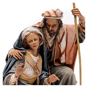 Nativity with ox, 30cm by Angela Tripi s2