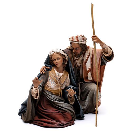 Nativity with ox, 30cm by Angela Tripi 6