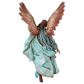 Angel of Glory, 30cm made of Terracotta by Angela Tripi s6