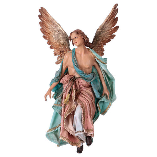 Angel of Glory, 30cm made of Terracotta by Angela Tripi 1