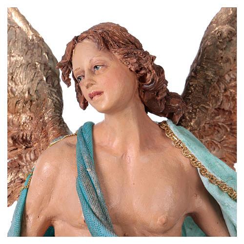 Angel of Glory, 30cm made of Terracotta by Angela Tripi 2