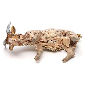 Mouton 13cm crèche terre cuite Angela Tripi s5
