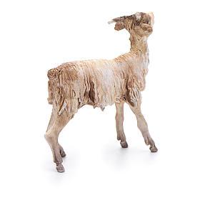 Cabra de pie Belén 13 cm Angela Tripi terracota s3