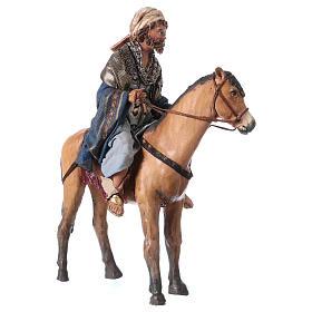 Roi Mage mulâtre sur cheval 13cm Angela Tripi s4