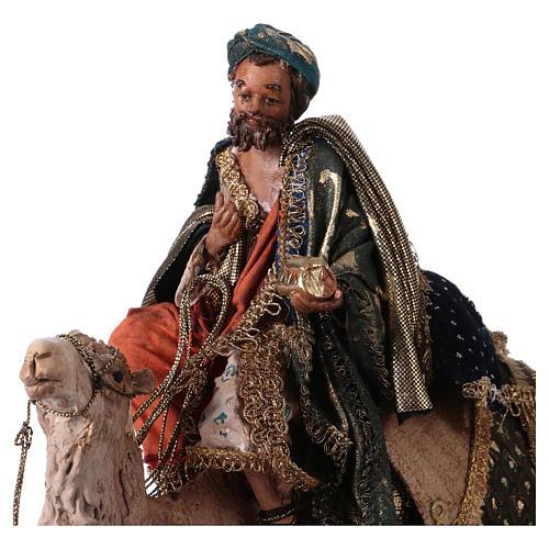 Roi Mage sur chameau 13cm Angela Tripi 2