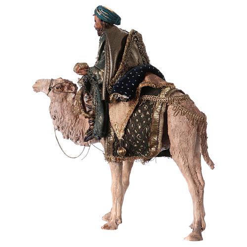 Roi Mage sur chameau 13cm Angela Tripi 5