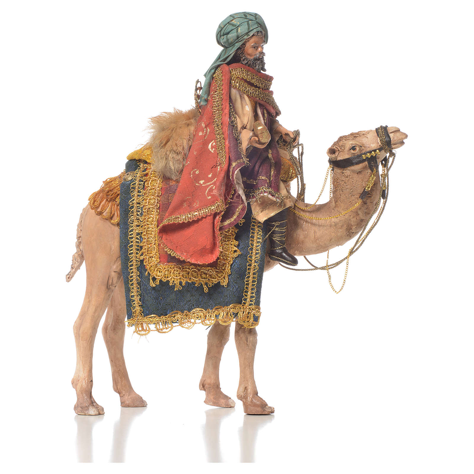 Re magio bianco a cammello 13 cm Angela Tripi 4