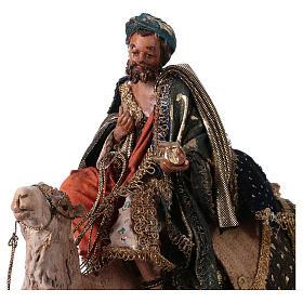 Re magio bianco a cammello 13 cm Angela Tripi s2