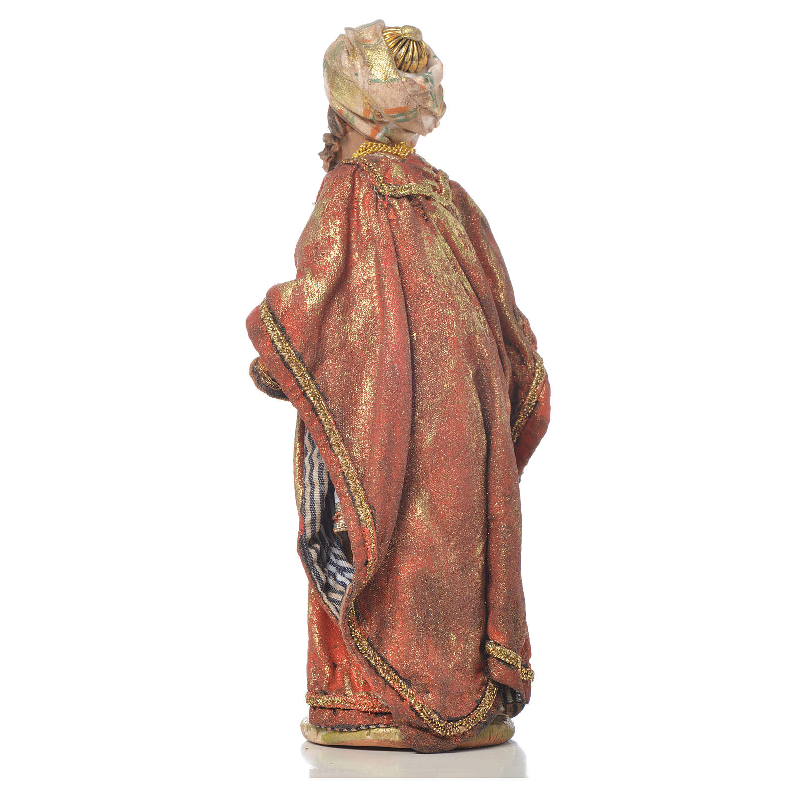 Re magio mulatto 13 cm Angela Tripi terracotta 4