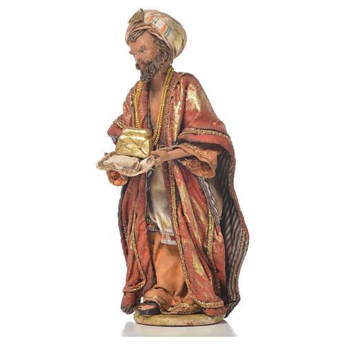 Re magio mulatto 13 cm Angela Tripi terracotta 2