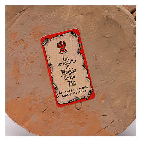 Re magio bianco 13 cm Angela Tripi terracotta s6