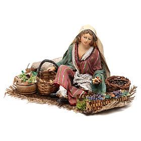Vendeuse de raisins et céréales 13cm Angela Tripi s3