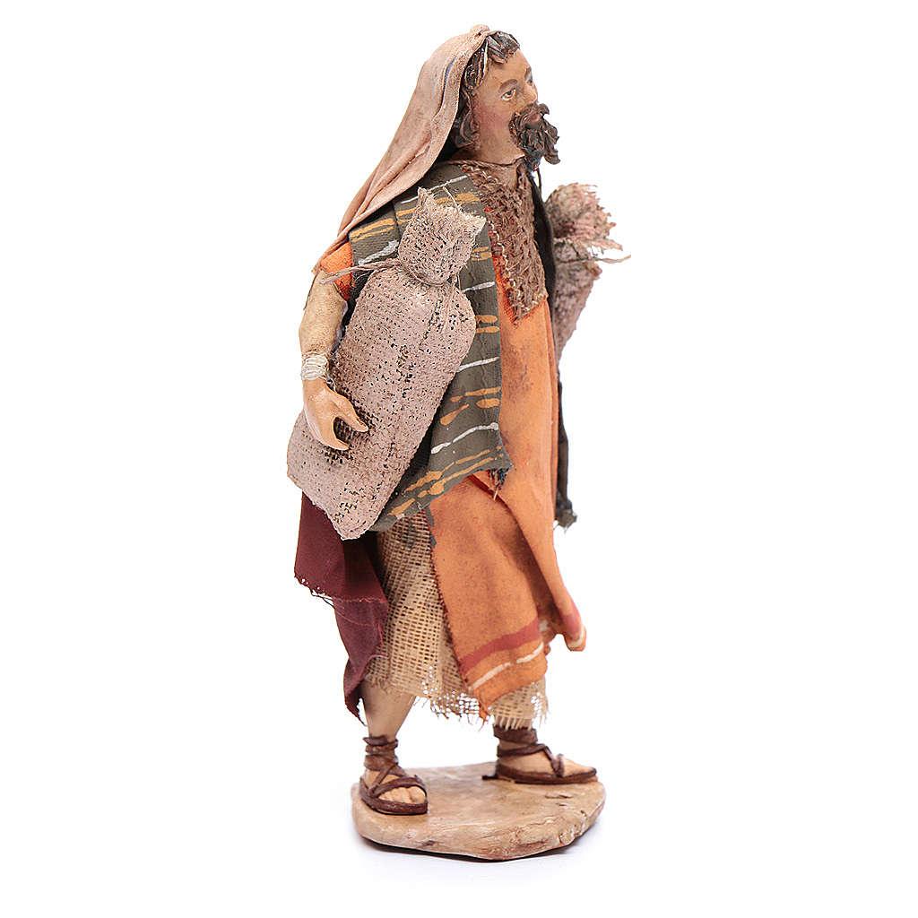 Pastor con sacos Belén 13 cm Angela Tripi 4
