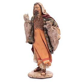 Pastor con sacos Belén 13 cm Angela Tripi s2