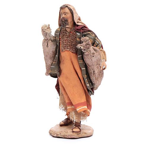 Pastor con sacos Belén 13 cm Angela Tripi 2