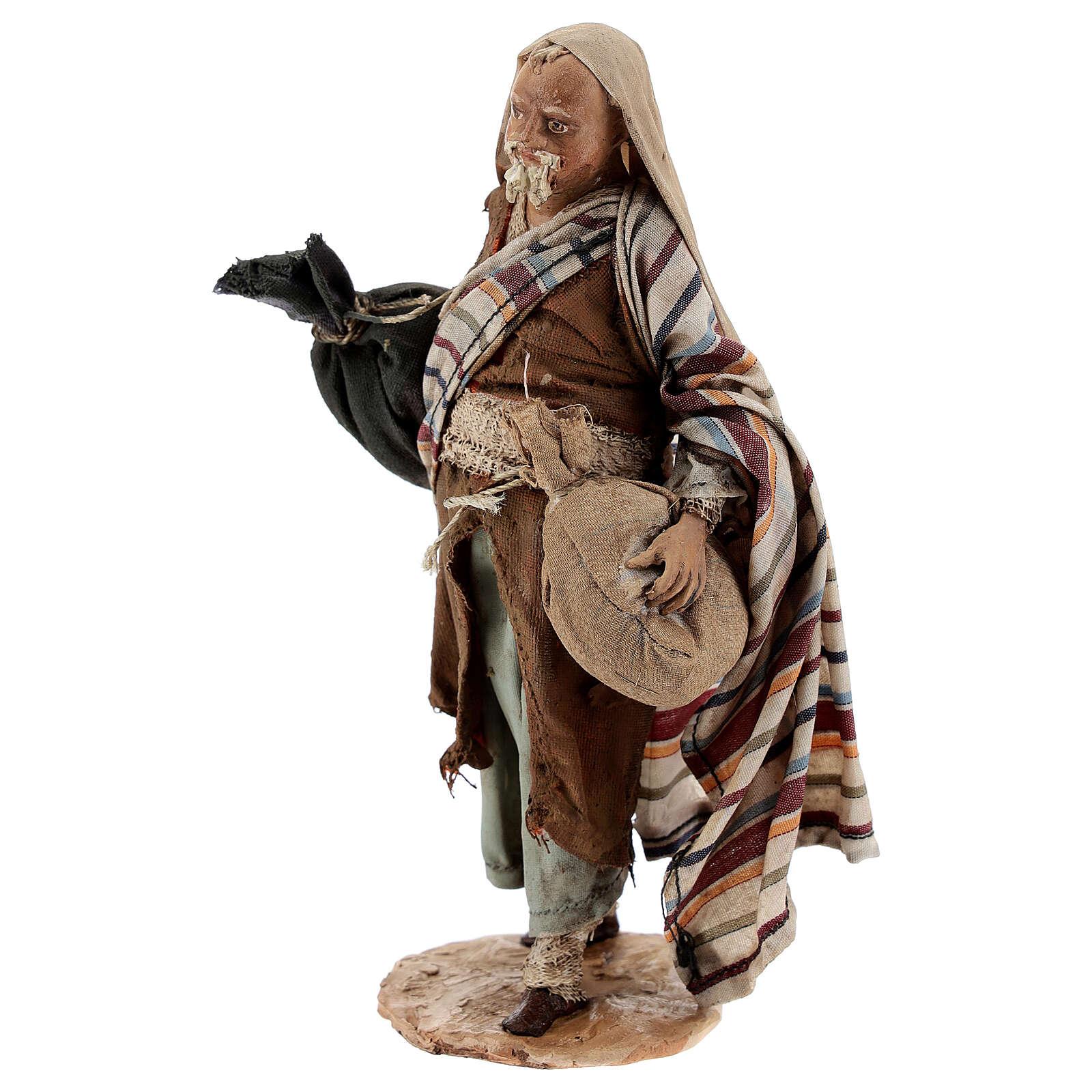 Pastore con sacchi 13 cm Angela Tripi 4