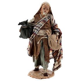 Pastore con sacchi 13 cm Angela Tripi s1