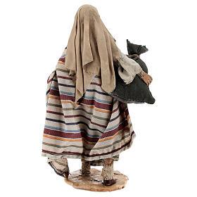 Pastore con sacchi 13 cm Angela Tripi s5
