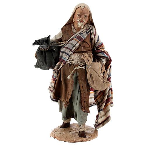 Pastore con sacchi 13 cm Angela Tripi 1