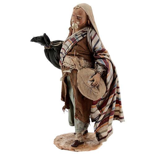 Pastore con sacchi 13 cm Angela Tripi 3