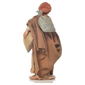 Shepherd with sack, 13cm nativity by Angela Tripi s3