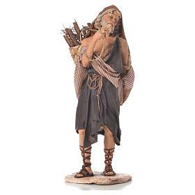 Boscaiolo 18 cm presepe Angela Tripi s3