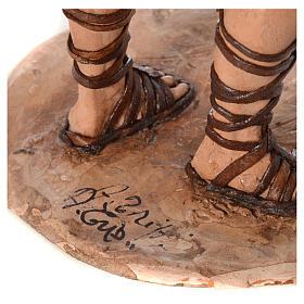 Boscaiolo 18 cm presepe Angela Tripi s6