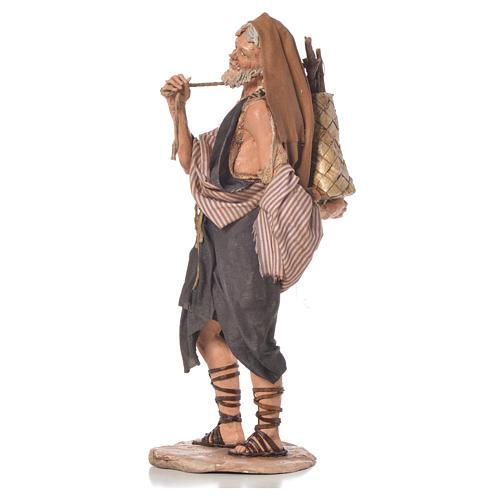 Boscaiolo 18 cm presepe Angela Tripi 2