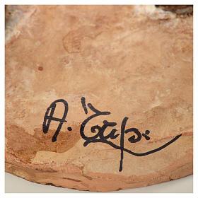 Pastore con ortaggi 18 cm presepe Angela Tripi s7