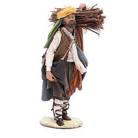Pastore con legna 18 cm Angela Tripi s4