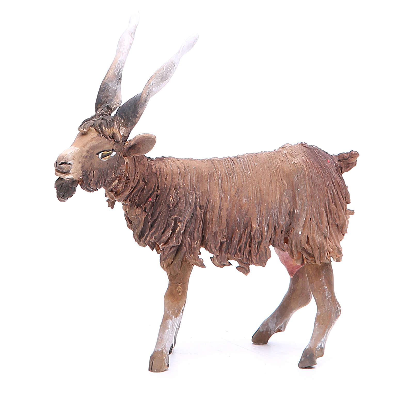Terracotta goat 18cm Angela Tripi 4