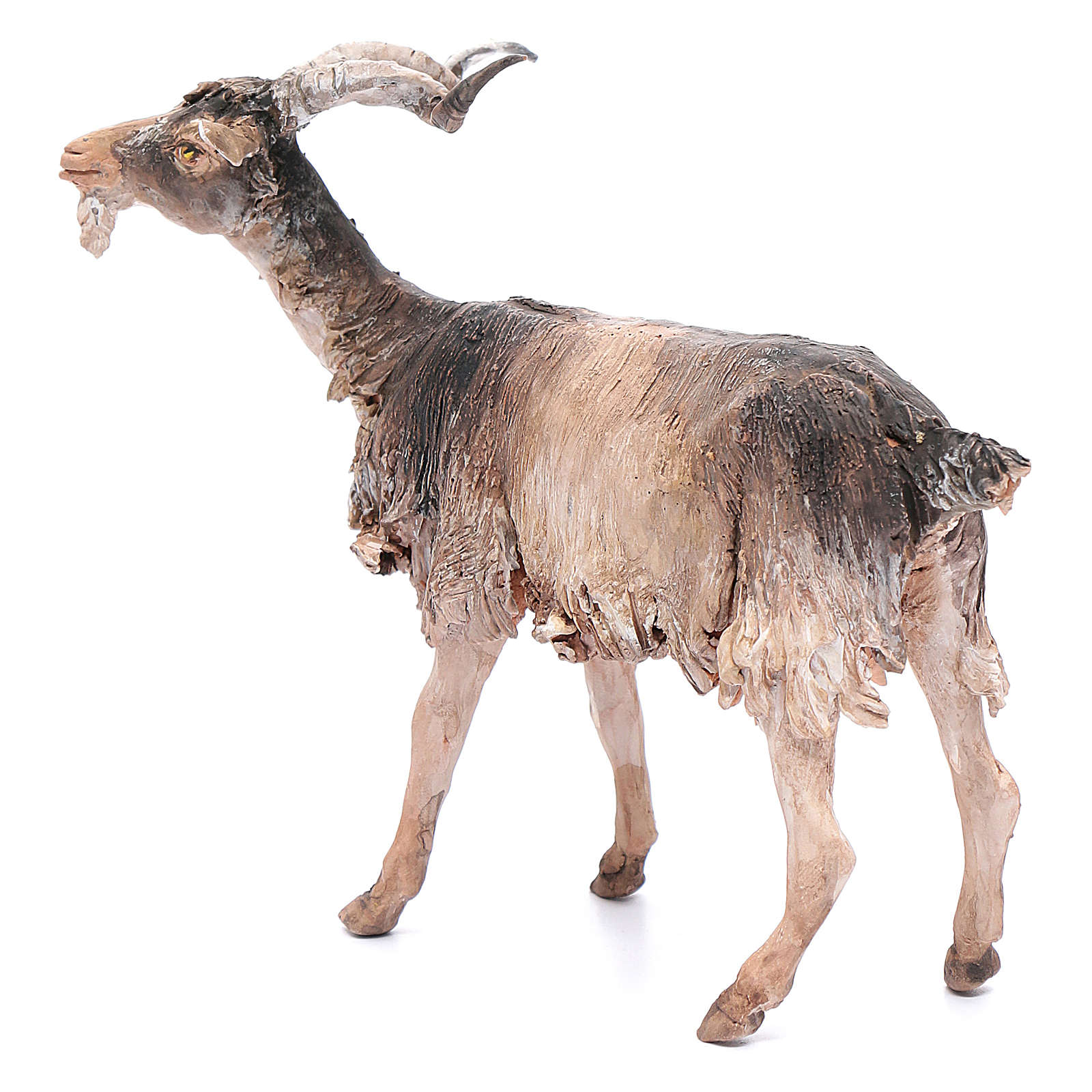 Chèvre 30cm crèche Angela Tripi 4