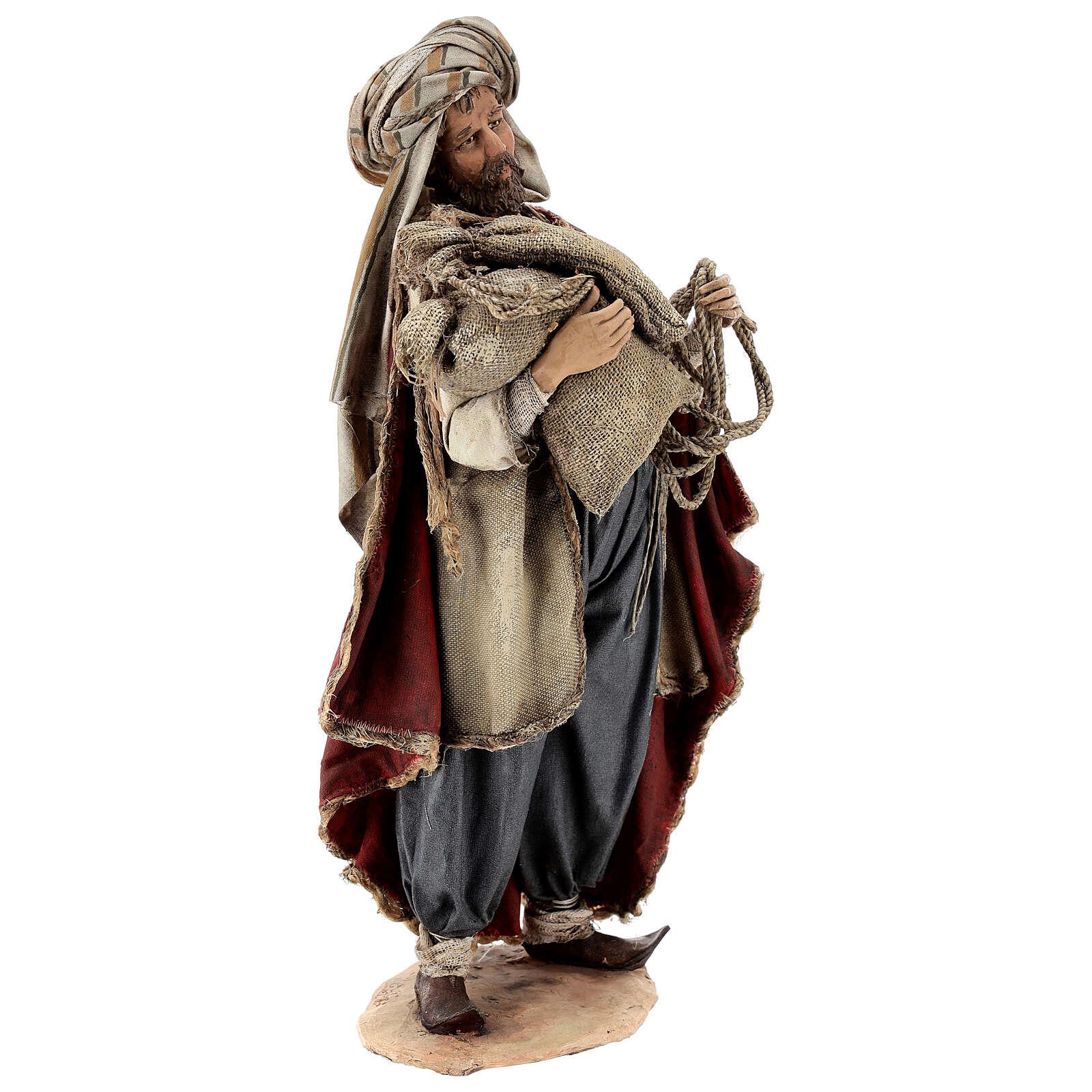 Mężczyzna ze wsi 30 cm szopka Angela Tripi 4