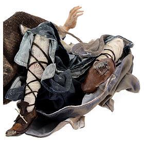Pastore adorante 30 cm Presepe Angela Tripi s8