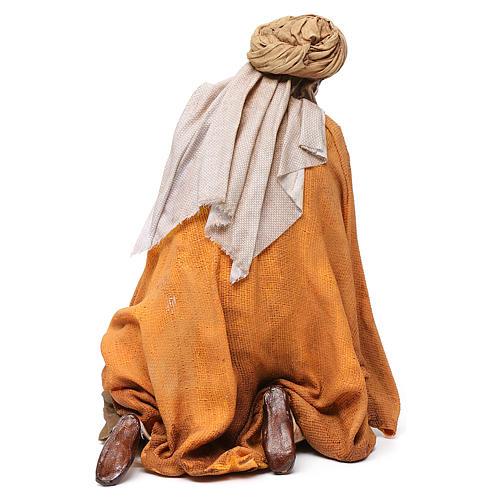 Pastore adorante 30 cm Presepe Angela Tripi 5