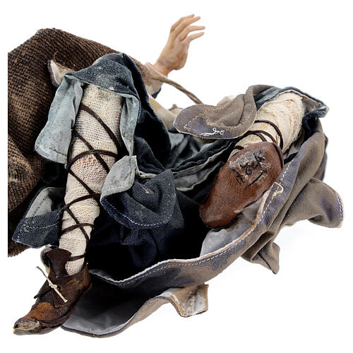 Pastore adorante 30 cm Presepe Angela Tripi 8