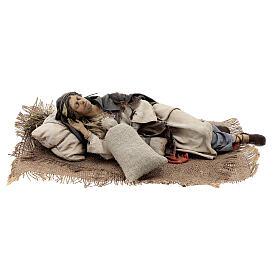 Dormiente 30 cm Presepe Angela Tripi s1