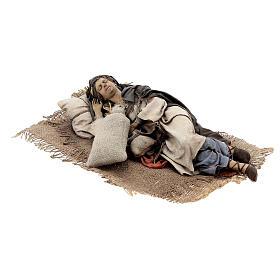 Dormiente 30 cm Presepe Angela Tripi s5