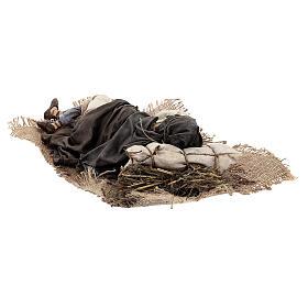 Dormiente 30 cm Presepe Angela Tripi s9