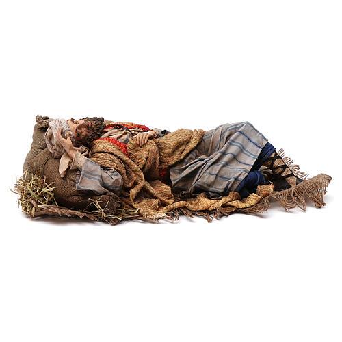 Dormiente 30 cm Presepe Angela Tripi 3