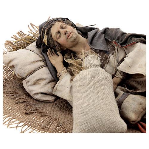 Dormiente 30 cm Presepe Angela Tripi 2