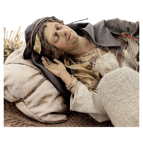 Dormiente 30 cm Presepe Angela Tripi 6