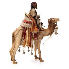 Roi Mage noir avec vase sur chameau 18cm Tripi s4