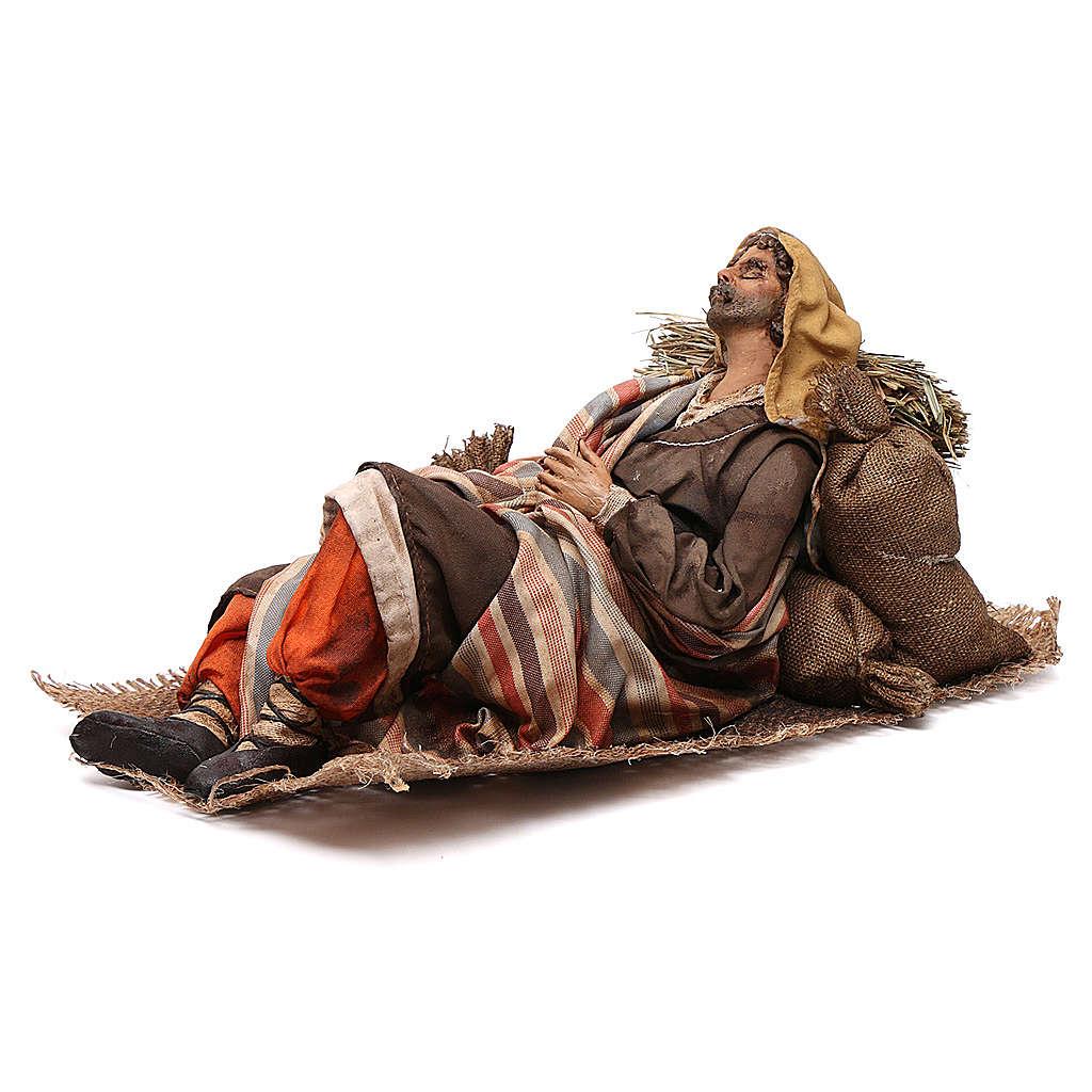Dormiglione 30 cm Presepe Angela Tripi 4