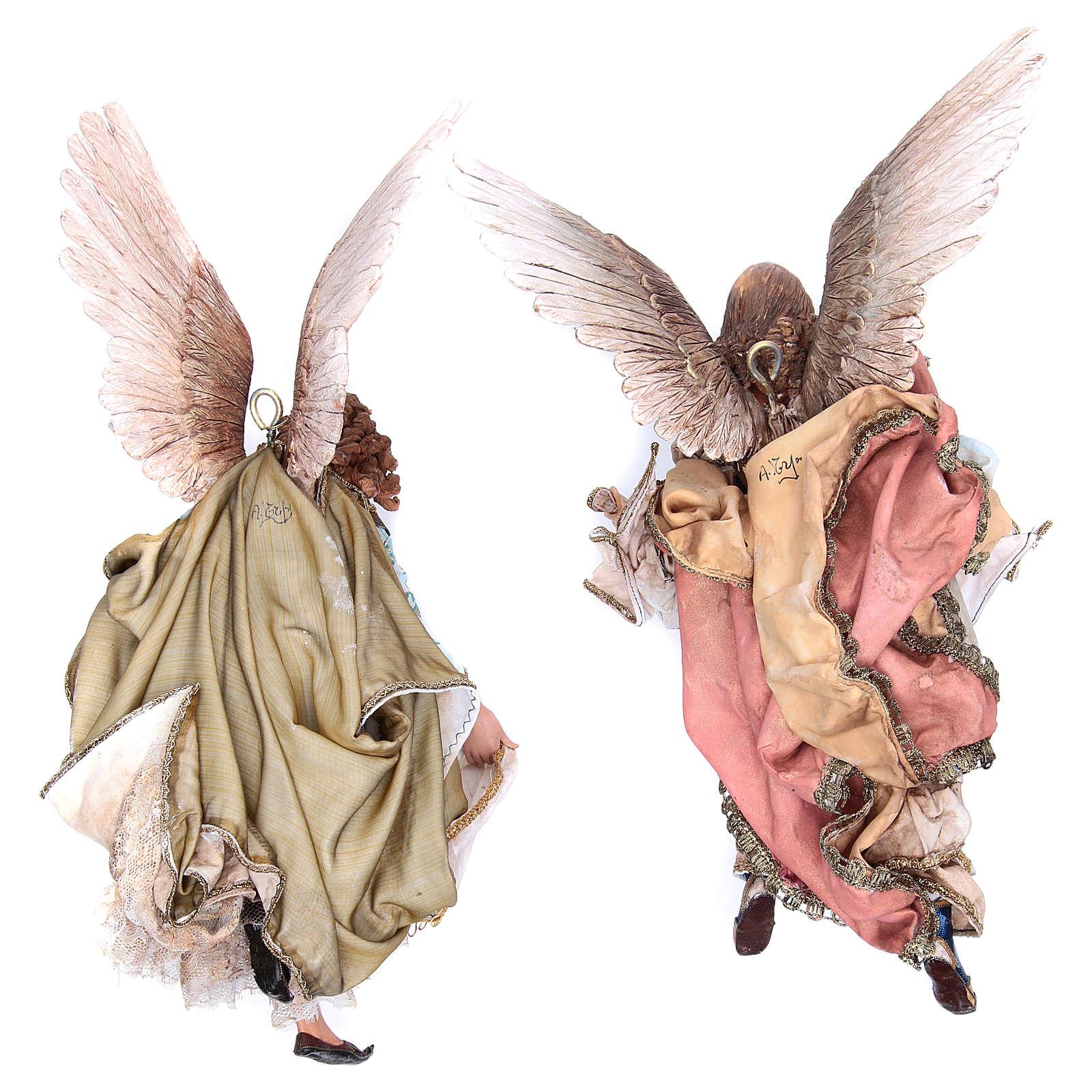 Angeli Gloria che si guardano 30 cm Angela Tripi 4