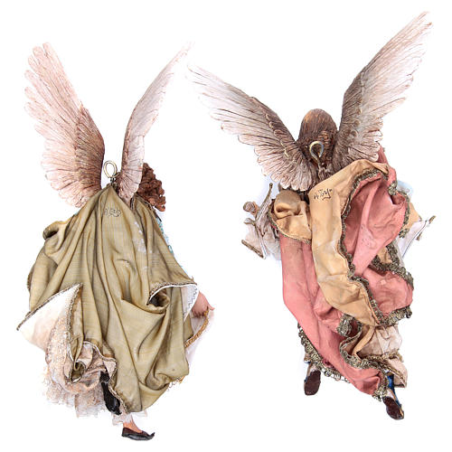Angeli Gloria che si guardano 30 cm Angela Tripi 2